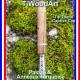 TiWoodArt vaporisateur DynaVap avec stem en bois deluxe Tip Titane