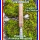 TiWoodArt vaporisateur DynaVap avec stem en bois VapCap M2019