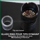 Glass Ring - Réducteur de remplissage en verre pour chambre Tip DynaVap