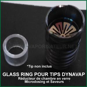 Glass Ring - Réducteur en verre pour chambre Tip DynaVap