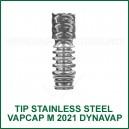 Tip Stainless Steel M2021 VapCap DynaVap chambre acier inoxydable