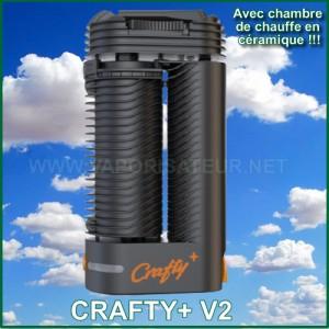 Crafty+ V2 vaporisateur portable connecté nouvelle version automne 2021