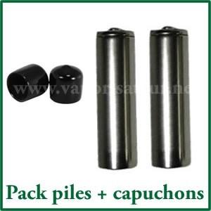 Pack 2 piles NiMH rechargeables Magic Flight + boite de rangement