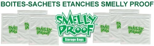 Sachets hermétiques Smelly Proof