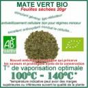 Herbe médicinale traditionnelle Maté Bio Ecocert feuilles séchées