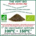 Vaporisez Bio - inhalez du Thé Vert Bio Ecocert
