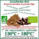 Guarana graines Bio à vaporiser herbe médicinale Ecocert