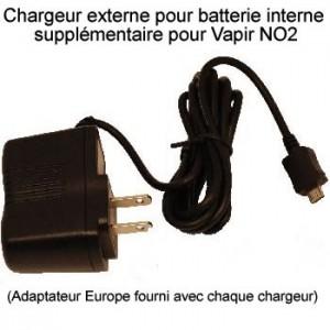 Chargeur externe pour batterie interne Vapir NO2