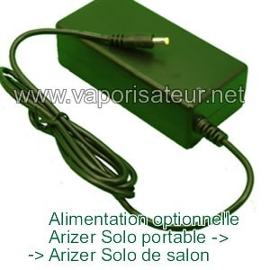 Alimentation Optionnelle (Power Adapter) Arizer Solo