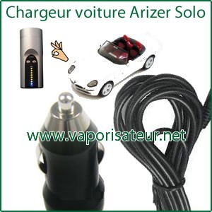 "Chargeur Voiture ""Car Charger"" Arizer Solo"