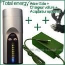 """""""Total Energy"""" Arizer Solo + adaptateur secteur + chargeur voiture"""