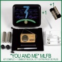 "Pack vaporisateur MLFB ""You and Me"""