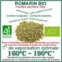Romarin Bio certifié feuilles pour vapo en phytothérapie