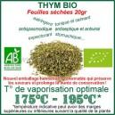 Thym Bio Ecocert feuilles sachet - herbe à vaporiser