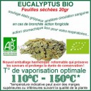 Eucalyptus Bio pour vaporisateur feuilles séchées 20gr
