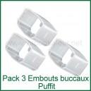 Pack 3 embouts buccaux vaporisateur Puffit