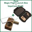 """MLFB et VapeCase """"Vape + Case"""" pack vapo MLFB et sa valise"""