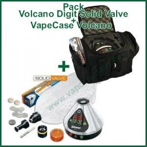 "Volcano Digit Solid Valve et VapeCase ""Vape + Case"""