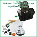 "Promo Vaporisateur Volcano Classic Solid Valve et VapeCase ""Vape + Case"""
