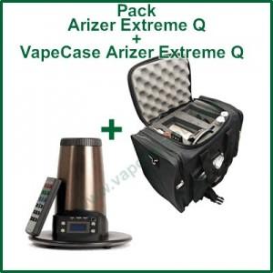 """Arizer Extreme Q et VapeCase """"Vape + Case"""""""