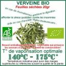 Verveine Bio Ecocert feuilles séchées 20gr pour vaporisateur