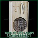 Vaporisateur portable Tree of Life Laser Launch Box Kit MLFB