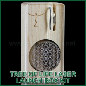Tree of Life Laser Magic Flight Launch Box Kit MFLB