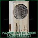 Flower of Life Laser Magic Flight Launch Box