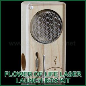 Flower of Life Laser Magic Flight Launch Box