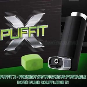 PUFFiT X Vaporisateur portable
