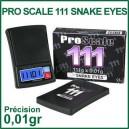 Balance de précision de poche pour vaporisateur Pro Scale 111 Snake Eyes