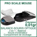 Pro Scale Mouse Balance pour vapo 3 en 1 - balance-souris d'ordi