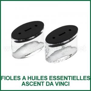 Fioles en verre pour huiles essentielles Ascent Da Vinci
