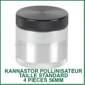 Grinder 56mm Kannastor avec filtre à pollen taille standard