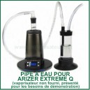 Deluxe Water Pipe - Bong pour vaporizer Arizer Extreme Q et V Tower