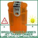 Briquet Jet Transformer pour vaporizer Duo Flammes Torche et Standard