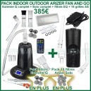 Pack Eco 2 en 1 Indoor Outdoor Arizer Extreme Q et Solo - Fan and Go 2 en 1