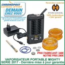 Mighty version 2021 vaporisateur portable digital