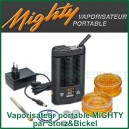 Vaporisateur portable digital Mighty