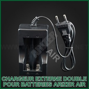Chargeur externe double des batteries Li-Ion Arizer Air