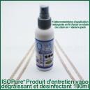 ISOPure 100ml-alcool isopropylique et 4 bâtonnets d'entretien