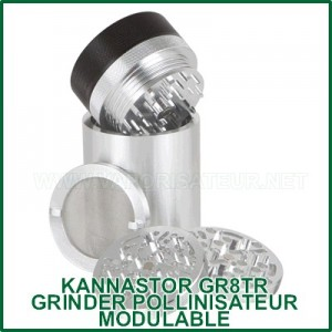 GR8TR ST KANNASTOR - grinder pollinisateur modulable 8pcs