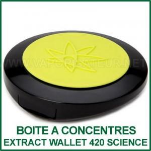 Extract Wallet 420 Science boite coquille pour concentrés végétaux
