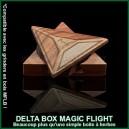 Delta Box MFLB - boite à plantes médicinales triangulaire en bois