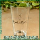 Pint Glass MFLB - verre pour convertisseur water pipe UFO avec logo