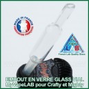 Tuyau en verre Glass Vial MyVapeLAB Mighty et Crafty
