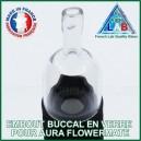 Embout buccal en verre Aura Flowermate MyVapeLAB
