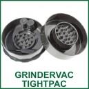 GrinderVac TightVac - grinder-boite 2 en 1 à fermeture sous vide