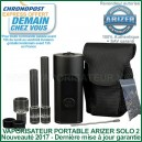 Arizer Solo 2 version 2021 vaporisateur portable digital
