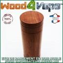 L'étui de transport en bois exotique pour Arizer Air